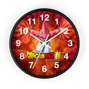 Dragon Ball Super Majin Buu Dope Fire Art Wall Clock