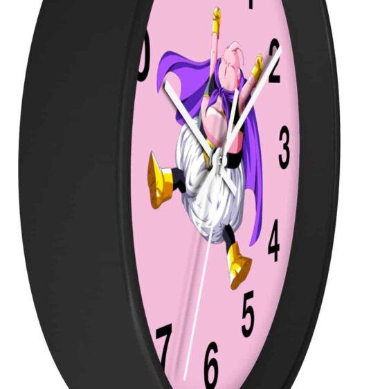 Dragon Ball Z Jumping Fat Majin Buu Adorable Wall Clock