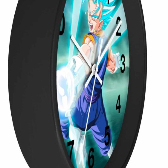 Dragon Ball Super Vegito Blue Flash Attack Dope Wall Clock