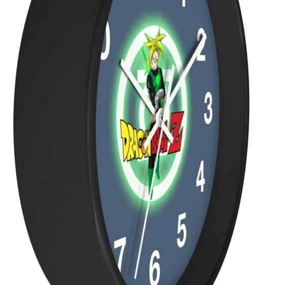 Dragon Ball Z Future Trunks Green Lantern Inspired Wall Clock