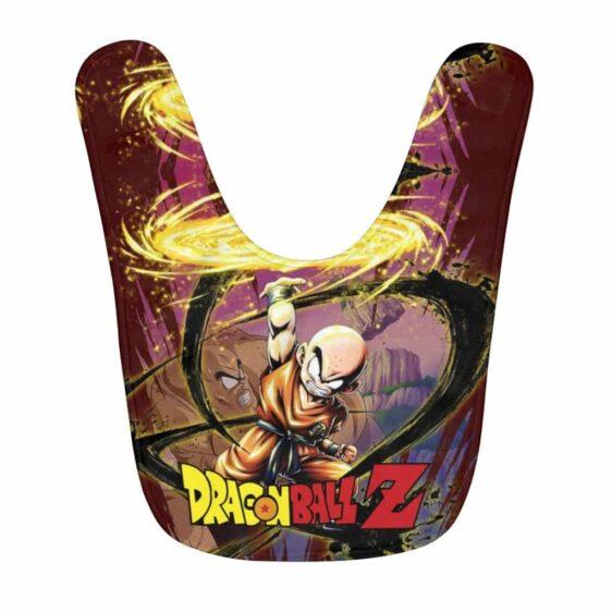 Dragon Ball Z Mad Krillin Attack Mode Cool Baby Bib