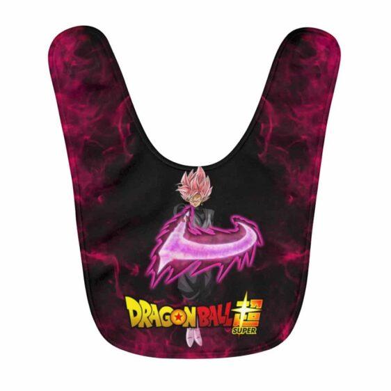 Dragon Ball Super Goku Black Saiyan Rose Badass Pose Baby Bib