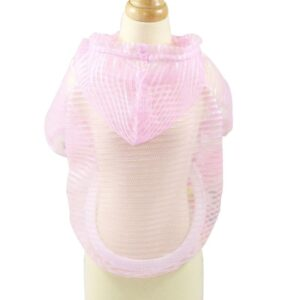 See Through Sun Protection Breathable Hooded Puppy Shirt - Woof Apparel