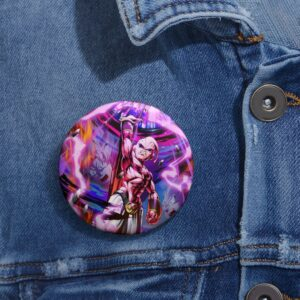 Dragon Ball Legends Powerful Majin Buu Energy Ball Pin Button