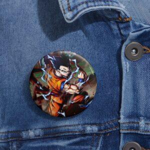 Dragon Ball Z Gohan Mystic Form Awesome Pinback Button