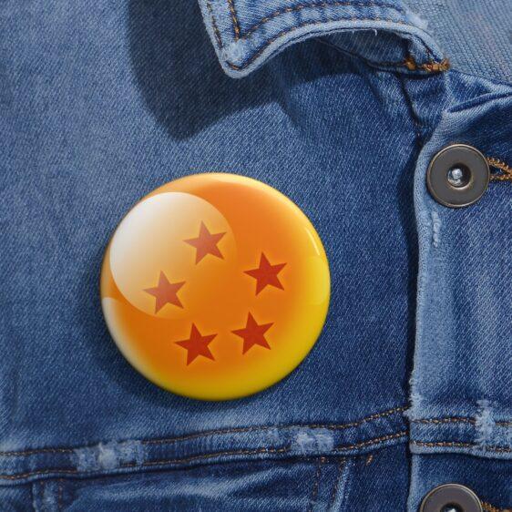DBZ Shenron 5-Star Earth Dragon Ball Cool Pin Button Badge