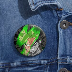Dragon Ball Super Legendary Saiyan Broly Art Pinback Button