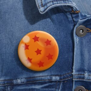 Dragon Ball Z Shenron 7-Star Earth Ball Awesome Pin Button