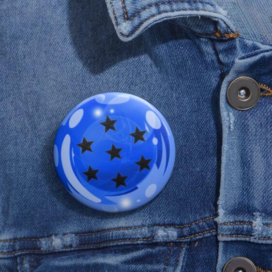 Dragon Ball Z 7-Star Blue Earth Dragon Ball Cool Pin Button
