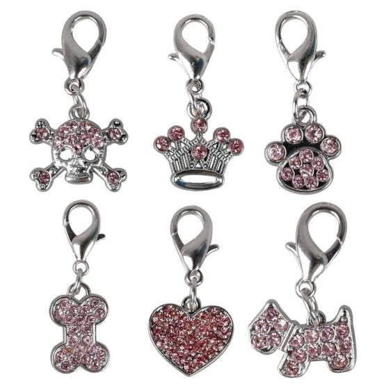 One Pack Crystal Charm Necklace Pendant For Your Pets - Woof Apparel