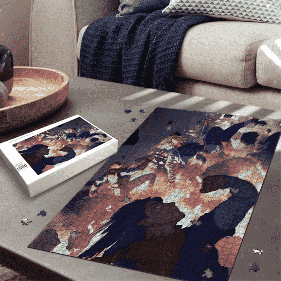 Android Saga Invasion Arc Dragon Ball Z 3D Art Cool Puzzle