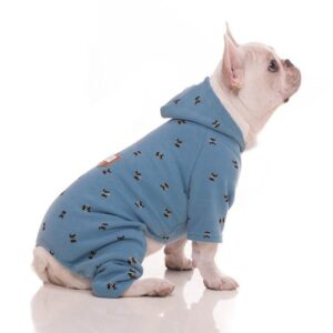 Silhouette Cat Face Design Overall Small Dog Jumpsuit - Woof Apparel