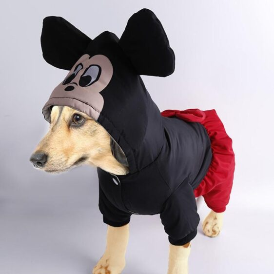 Mickey & Minnie Mouse Onesie Costume for Dog - Woof Apparel