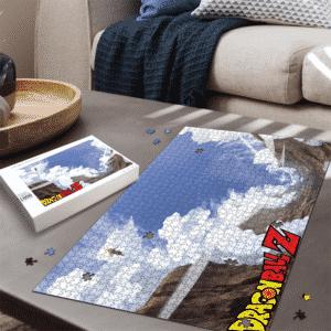 Cell Saga Teen Gohan Kamehameha Dragon Ball Z Landscape Puzzle