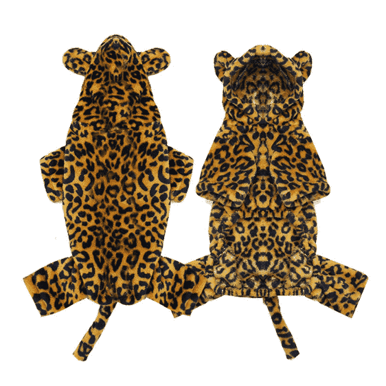 Cute Leopard Comfortable Onesie Party Costume for Dog