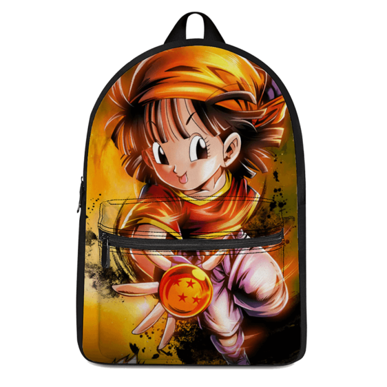 DBZ Adorable Pan Holding A Dragon Ball Cool Backpack