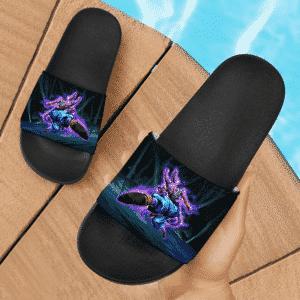 DBZ Beerus The God Of Destruction Electrifying Slide Slippers