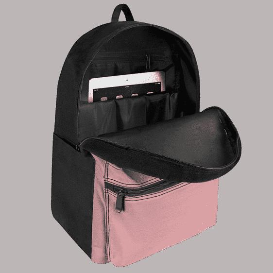 DBZ Fat Buu Cute Pink Blue Cool Canvas Backpack