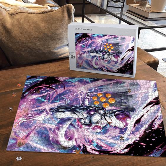 DBZ Frieza With Complete Dragon Balls Amazing Portrait Puzzle