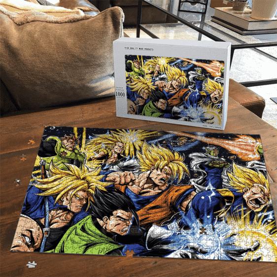 DBZ Goku Future Trunks Gohan Vegeta Gotenks Piccolo Comics Puzzle