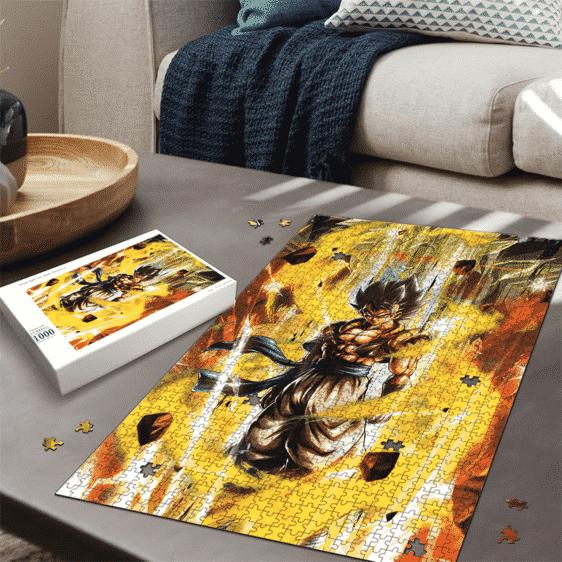 DBZ Goku Vegeta Dance Fusion Gogeta Portrait Epic Puzzle