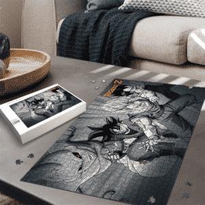 DBZ Goku Vegeta Potara Earing Fusion Vegito VS Kid Buu Puzzle
