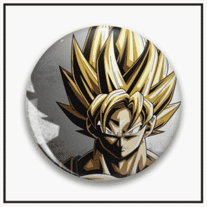 Dragon Ball Z Pin Buttons