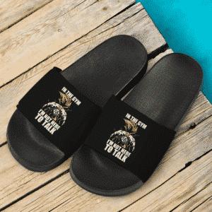 DBZ Son Goku Super Saiyan 2 Gym Essential Slide Sandals