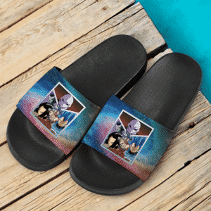 DBZ Tournament Of Power Jiren Frieza Android 17 Goku Vegeta Cool Slide Slippers