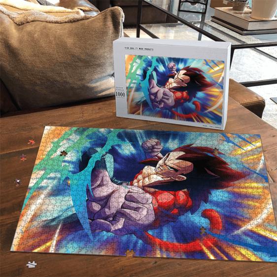 DBZ Vegeta Super Saiyan 4 Striking Pose Fantastic Portrait Puzzle