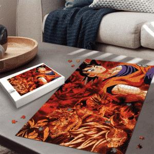 Dragon Ball All Son Goku Transformation Montage Art Puzzle
