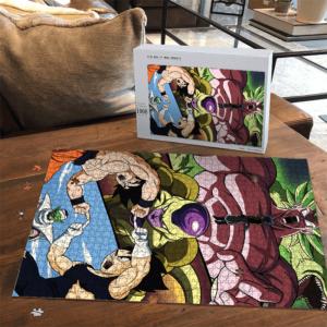 Dragon Ball Broly Movie Frieza Vegeta Goku Piccolo Awesome Puzzle