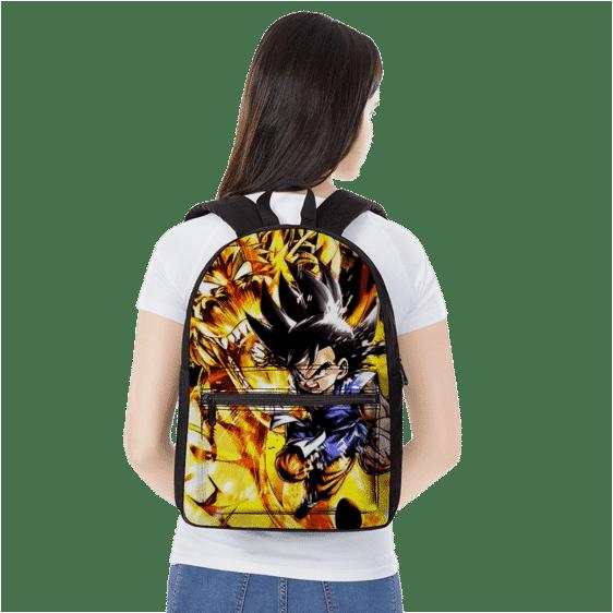 Dragon Ball GT Kid Goku With Super Shenron Wonderful Backpack