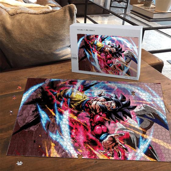 Dragon Ball GT Son Goku Saiyan 4 Omega Shenron Portrait Puzzle