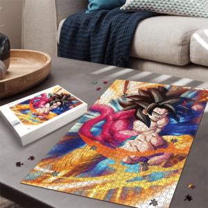 Dragon Ball GT Son Goku Super Saiyan 4 Amazing Portrait Puzzle