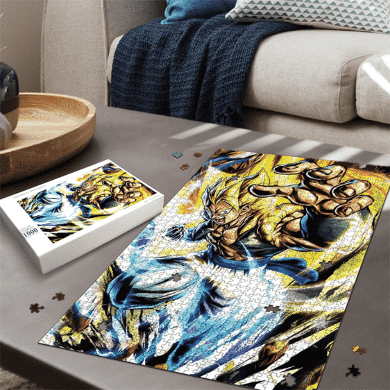 Dragon Ball Gogeta SSG2 Energizing Portrait Puzzle