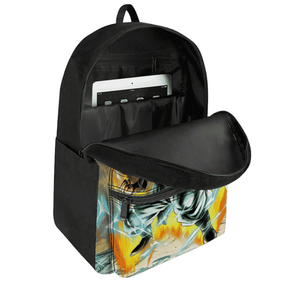 Dragon Ball Gotenks Super Saiyan 3 Powerful Canvas Backpack