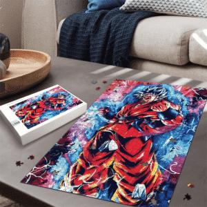 Dragon Ball Kakarot Orange Costume SSGSS Dope Portrait Puzzle