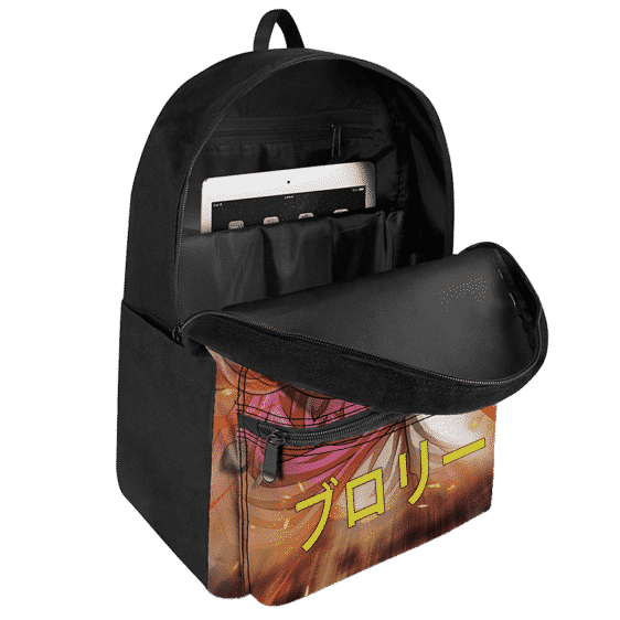 Dragon Ball Legends Broly Aggressive Stance Dope Backpack