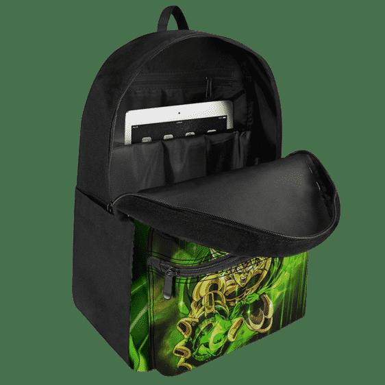 Dragon Ball Legends Broly The Legendary Saiyan Green Backpack