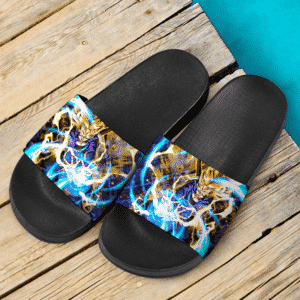 Dragon Ball Legends Future Trunks Energizing Art Dope Slide Footwear