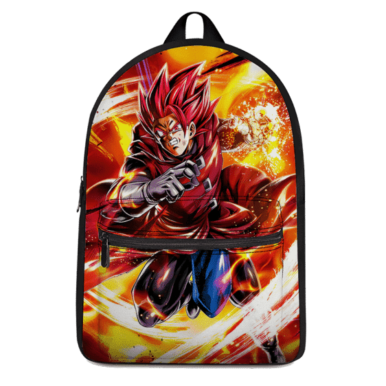 Dragon Ball Legends Giblet The Saiyan In Red Wonderful Backpack