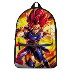 Dragon Ball Legends Shallot Super Saiyan God Epic Canvas Backpack