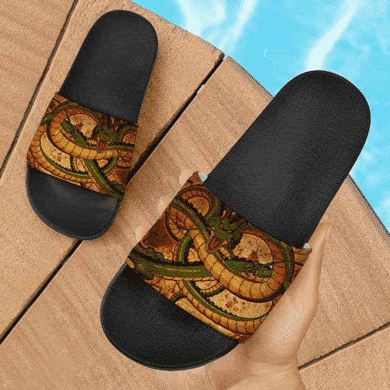 Dragon Ball Shenron The Divine Dragon Awesome Slide Sandals