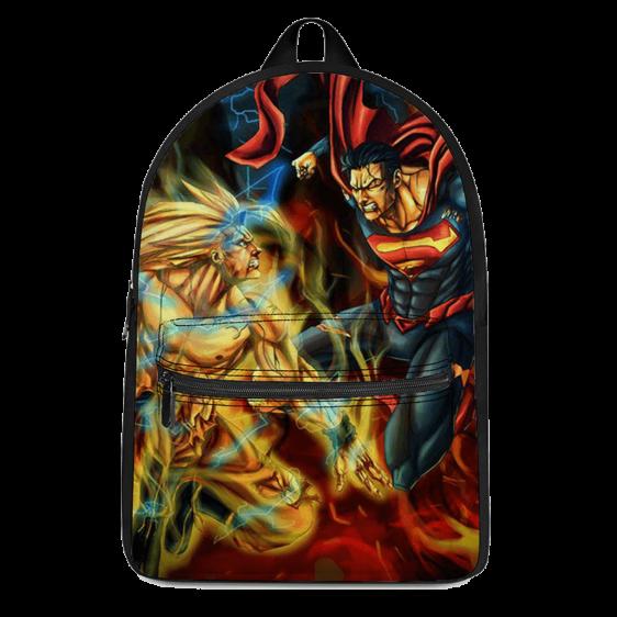 Dragon Ball Son Goku Versus Superman Fantastic Backpack