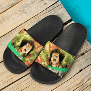 Dragon Ball Super Android 17 Mir Ranger Awesome Slide Footwear