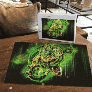 Dragon Ball Super Broly Green Ball Of Energy Landscape Puzzle