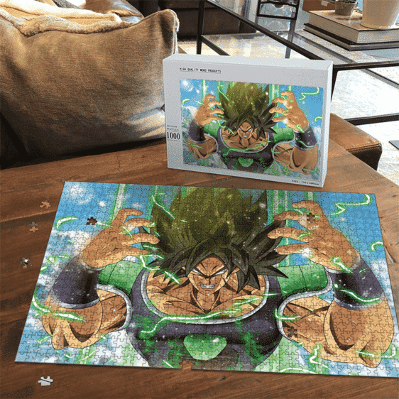 Dragon Ball Super Broly Movie Mad Base Form Landscape Puzzle