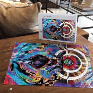 Dragon Ball Super Fused Zamasu Colorful Portrait Puzzle