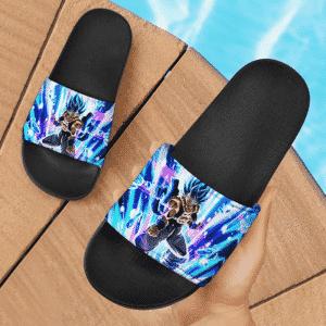 Dragon Ball Super Gogeta Super Saiyan Blue Explosive Aura Slide Sandals